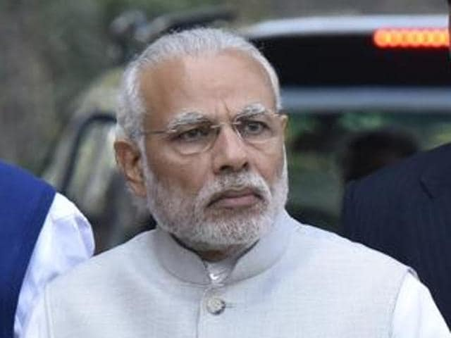 Prime Minister Narendra Modi meets chief ministers at the Interstate Council.