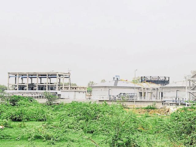 Gurgaon,civic blues,sewage treatment plant