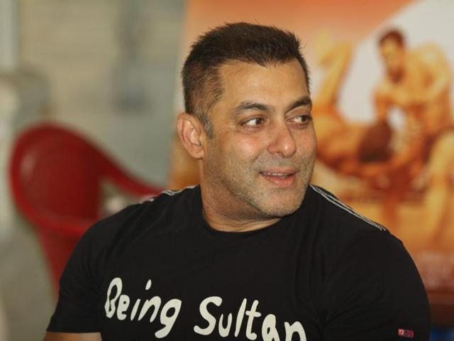 Salman Khan is busy enjoying the success of his film Sultan.