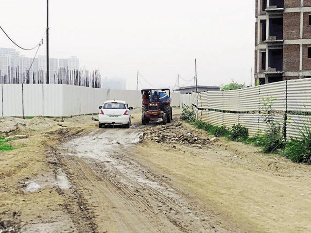 The authority had built the peripheral road in 2011, except for the 300-metre stretch that is still incomplete.