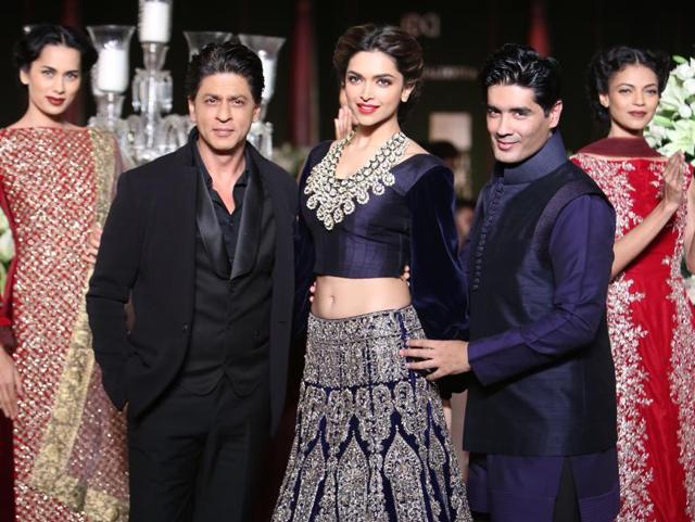 Deepika Padukone  had previously walked the ramp for and Manish Malhotra in 2013.