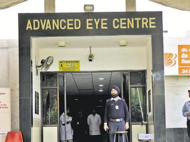 Post Graduate Institute of Medical Education and Research,PGI,Advanced Eye Centre