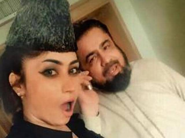 Qandeel Baloch had taken social media by storm recently when she posted three selfies of herself with cleric Mufti Abdul Qavi on her Facebook page.