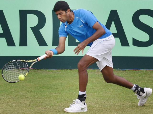 With the tie already decided, Rohan Bopanna won an inconsequential match against Korea's Hong Chung 3-6, 6-4, 6-4.