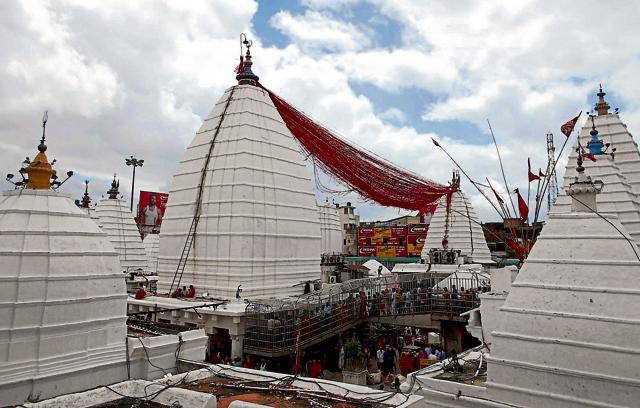 The Shravani Mela is frequented by over 40 lakh devotees, with the Shiva temple a particular highlight.
