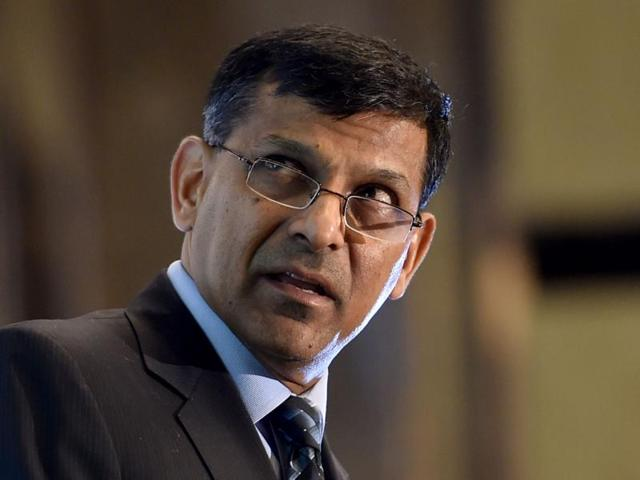 Reserve Bank governor Raghuram Rajan speaks during an interactive meeting with industry and trade organisations organised by The Associated Chambers of Commerce and Industry of India  in Bangalore.