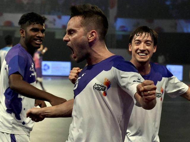 Premier Futsal,Mumbai 5's,Kochi 5's