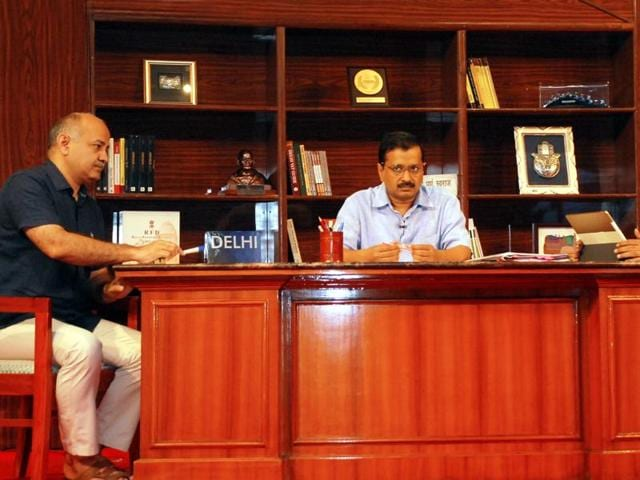 Chief minister Arvind Kejriwal alleged the Centre of creating an India-Pak-like situation with the Delhi government during his first 'Talk to AK' programme on Sunday.