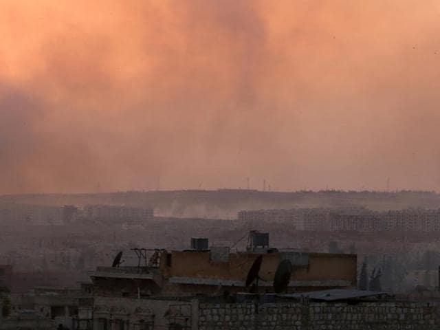 Syria,Aleppo,Bashar al-Assad