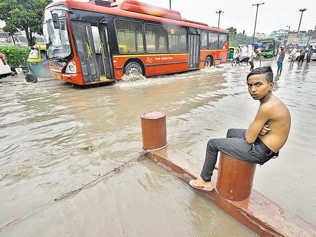 Flooding is yet to claim lives in Delhi. But every time it pours, the city comes to a halt.