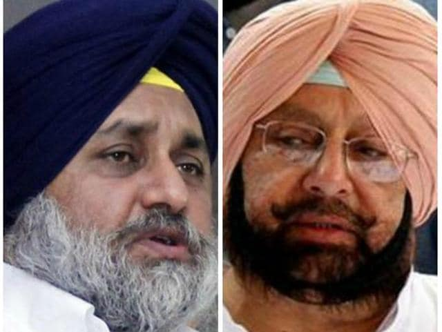 """""""If they (the Badals) are aggrieved seriously, why don't they ask Harsimrat Kaur Badal (Sukhbir's wife) to withdraw from the Union cabinet?"""" Captain said."""