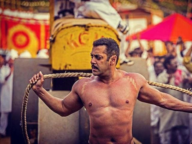 Salman Khan's latest film Sultan is breaking records at the box office. (YouTube)