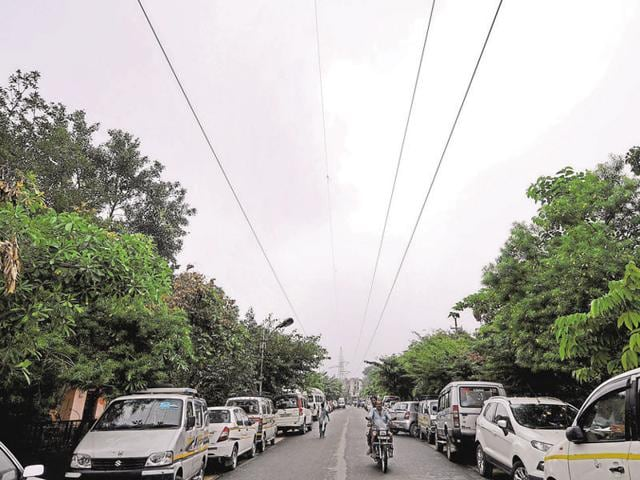 Overhead electricity cables get damaged due to strong winds, rains and after being hit by tree branches.