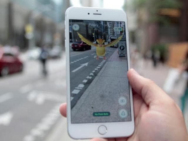 """To progress in the game, players known as """"trainers"""" must walk around to find and catch Pokemon and access specific locations called Pokestops"""