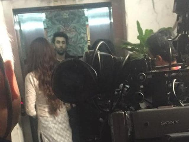 Ranbir Kapoor spotted on the Mumbai sets of Ae Dil Hai Mushkil.
