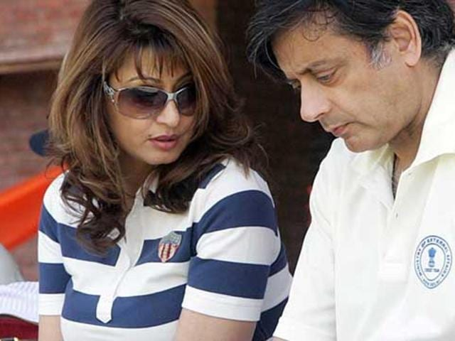 Sunanda Pushkar, the wife of Congress leader Shashi Tharoor, was found dead in her suite at a five-star hotel in Delhi in January 2014.