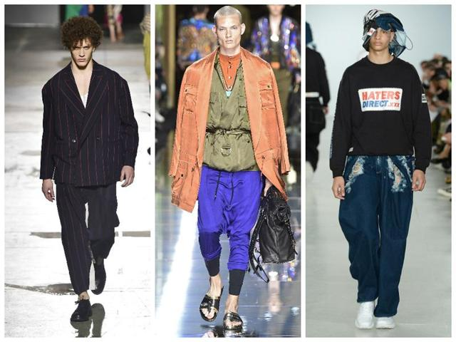 Designers say that oversized clothing and easy silhouettes will be hot in 2016.