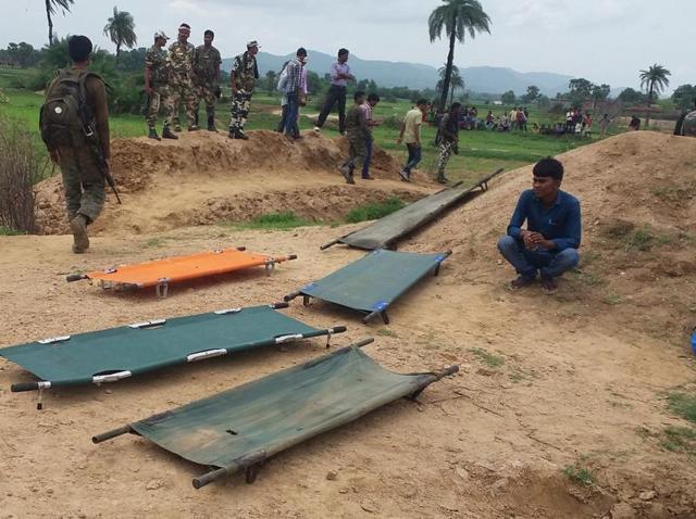 CRPF jawans,Maoist attack,Gaya