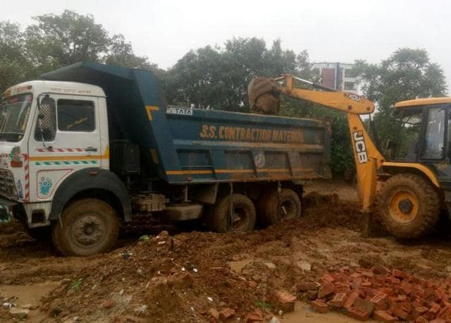 The artificial pond in Sector 53 will serve as a stormwater collection pit and reduce waterlogging in sectors 27, 28 and 43 and onGolf Course Road.