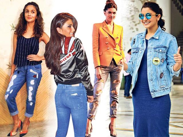 Stylistas are adding a pop punch to their denims and jackets with the '90s favourite accessory.