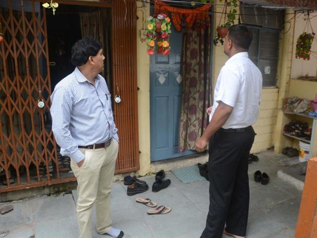 The raids were conducted at houses and offices of four LIC officials.