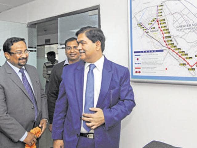 Rama Raman CEO Noida,IAS transfers Noida,Pravir Kumar