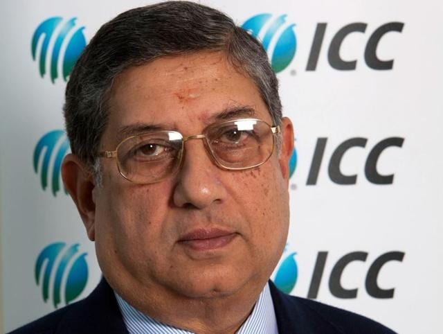 N Srinivasan (left), former BCCI president lost his cool when asked to respond to the blame put on him by many BCCI members for the current crisis.