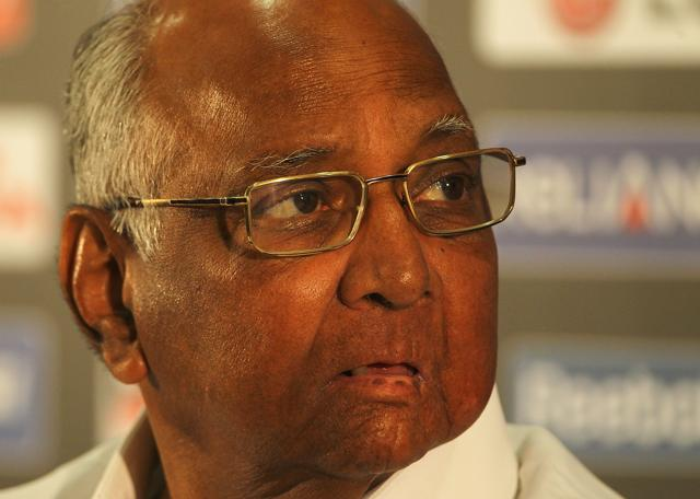 75-year-oldSharad Pawar had previously served as the president of International Cricket Council and the chairman of the BCCI.