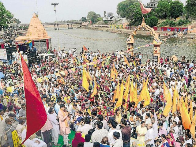 The RSS chief took part in the ideological conclave organised in Ujjain during Simhastha from May 12 to May 14.