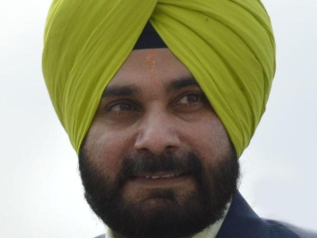 Cricketer-turned-politician Navjot Singh Sidhu