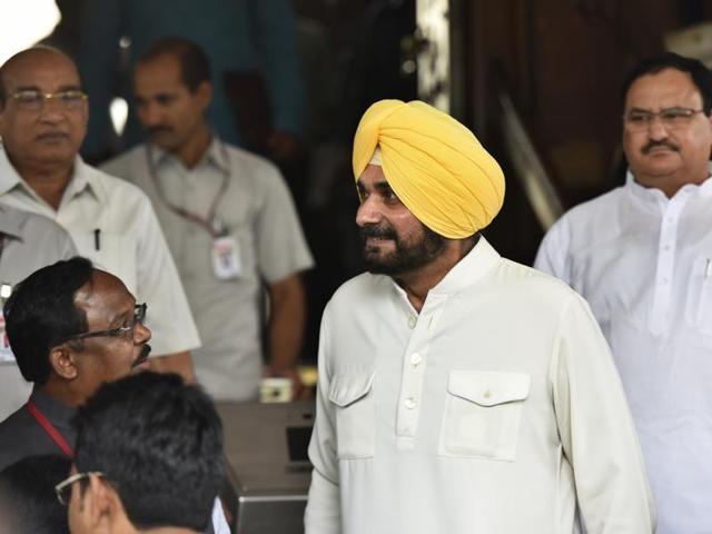BJP's Navjot Singh Sidhu quit Rajya Sabha on Monday, the first day of Parliament's monsoon session.