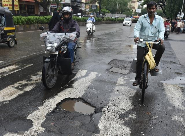 The civic body has received complaints about 1,200 potholes in the city.