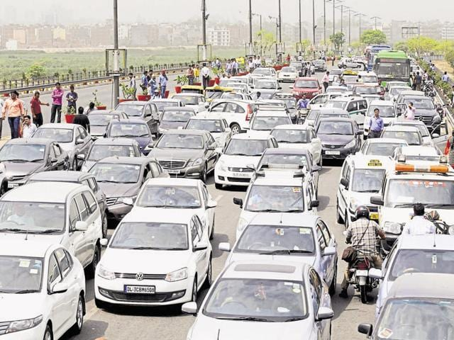 The transport department identified 2.82 lakh vehicles that are 10 years old. An analysis by the department showed Delhi had 1.6 lakh private and 1.2 lakh commercial diesel vehicles that are over 10 years old.