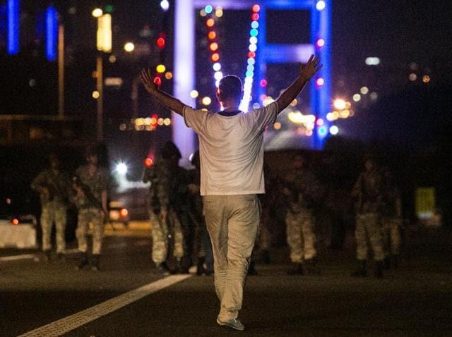 AFP photographers account,Turkey military coup,Bulent Kilic