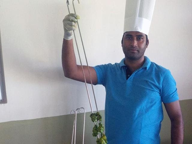 A Dehradun boy who came to Antigua six months back, Ramesh Chander Semwal is thrilled to play the chef in need of the India team now.