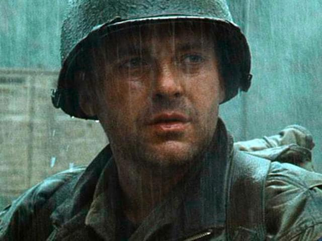 Sizemore in a still from Saving Private Ryan.