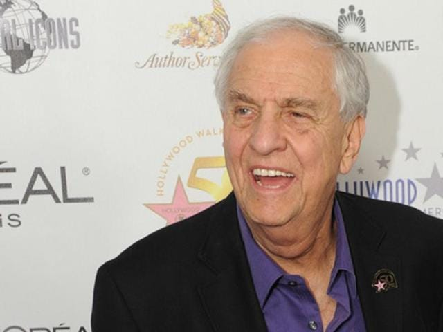 Actor, director and best known as the producer of the Happy Days series, Gary Marshall arrives on the red carpet for the 50th anniversary birthday bash of the Hollywood Walk of Fame at the Kodak Theater in a file photo from November 2010.