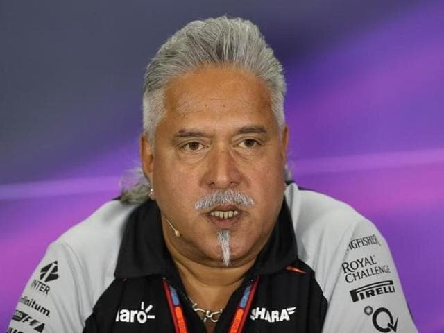 Vijay Mallya was recently seen cheering on his Force India team from the pit during the British Grand Prix at the Silverstone track in Northamptonshire, England.