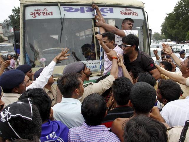 Una Dalit thrashing incident,Una incident,Gujarat violence
