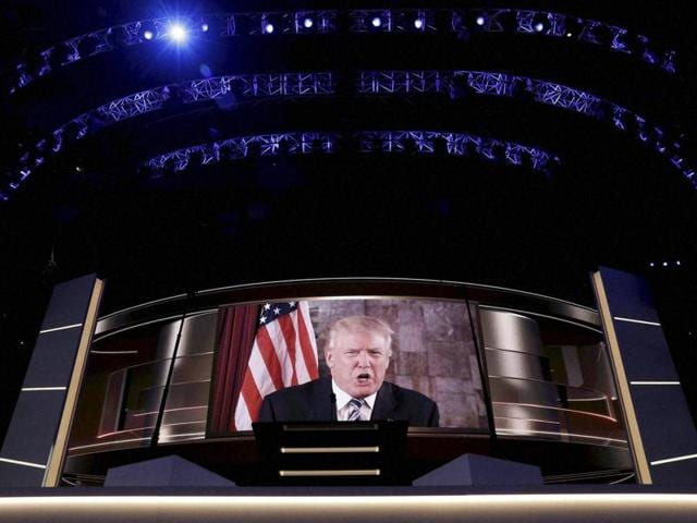 US presidential election,Republican National Convention,Donald Trump