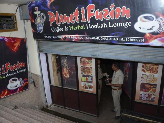 hookah bar raided