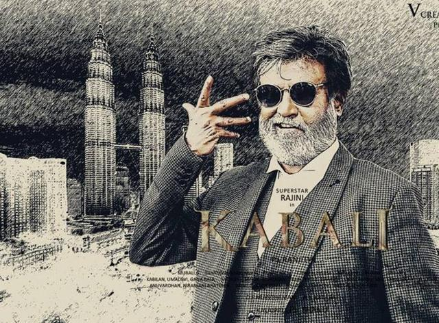 Rajinikanth plays an ageing don who takes up the cause of equal pay for Malaysian Tamils in Kabali.