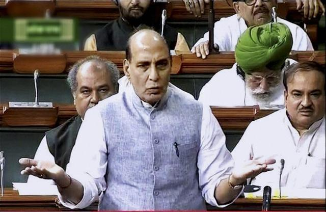 Home minister Rajnath Singh stressed the situation in Kashmir would soon become normal.