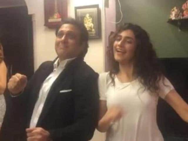 He may have grown old, but Govinda has still got the moves.