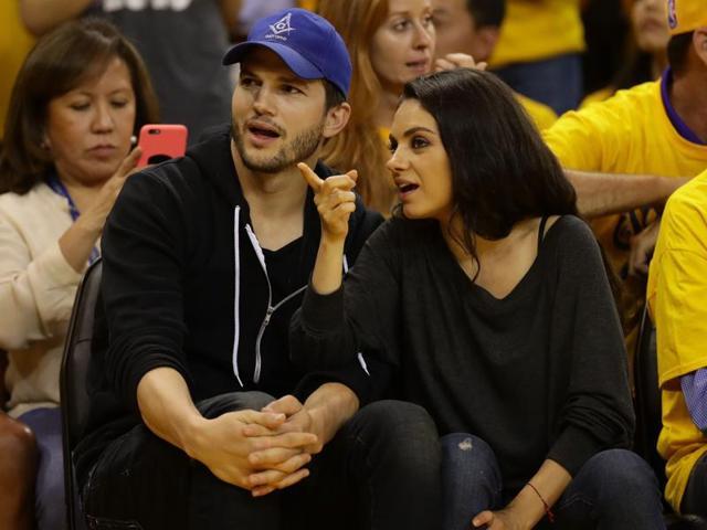 Ashton Kutcher,Mila Kunis,Mila Kunis Ashton Kuthcer