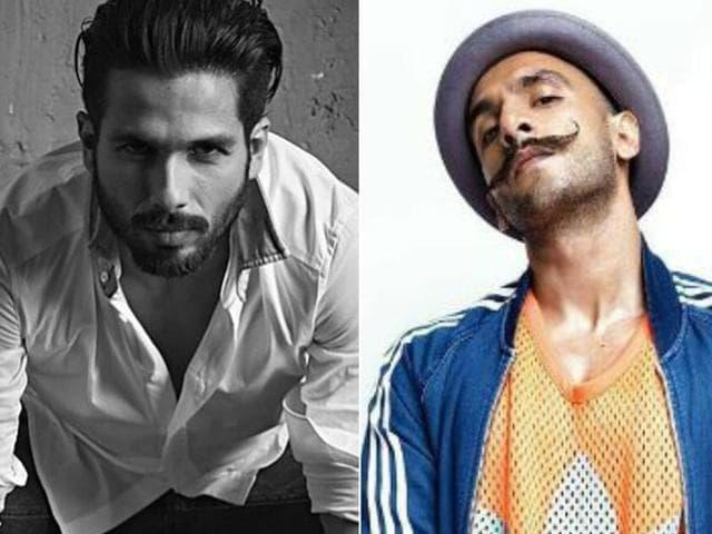 A number of top Bollywood male stars such as Shahid Kapoor and Ranveer Singh will share screen space with their contemporaries such as Shah Rukh Khan and Said Ali Khan in their upcoming films.