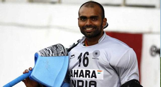 India hockey skipper PRSreejesh.