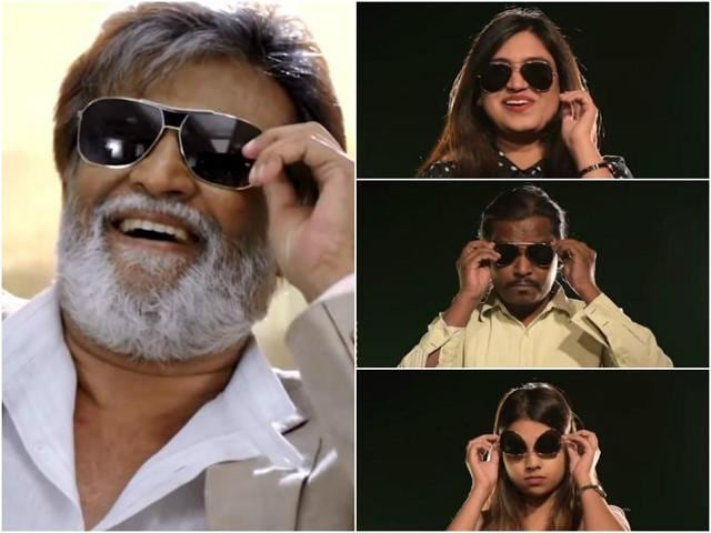 We got some fans (right here at the Hindustan Times office) to mimic Thalaivar's signature moves.