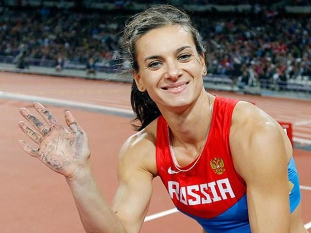 "Double Olympic champions pole vaulter Yelena Isinbayeva has called the verdict ""the funeral of athletics."
