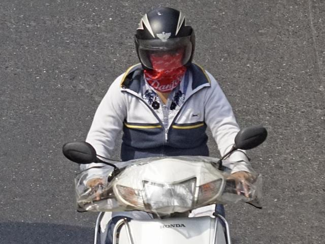 The state has already made helmets compulsory for both the rider and the pillion rider.